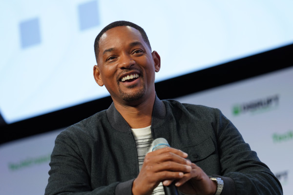 Will Smith just dropped $10K on a startup that pitched him on stage at Disrupt