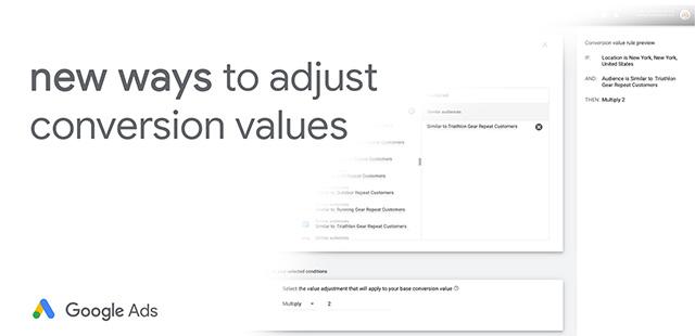 Google Ads Conversion Value Rules For Smart Bidding