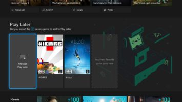September Xbox Update: Play Later Discovery, Updated Microsoft Edge, and More