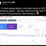 SEOs experiencing delays in data on Search Console performance reports